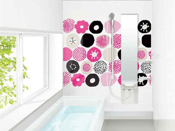 浴室ウォールアート