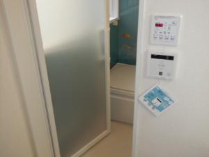 温水バス乾燥機とお掃除浴槽のリモコンです!